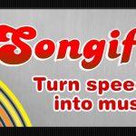 Application Songify, créez une chanson en un instant