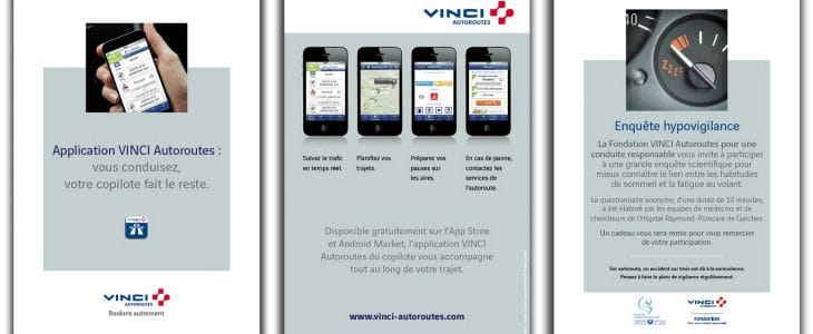 Vinci autoroute application